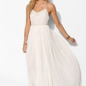 Long Ivory Kimchi Blue Dress